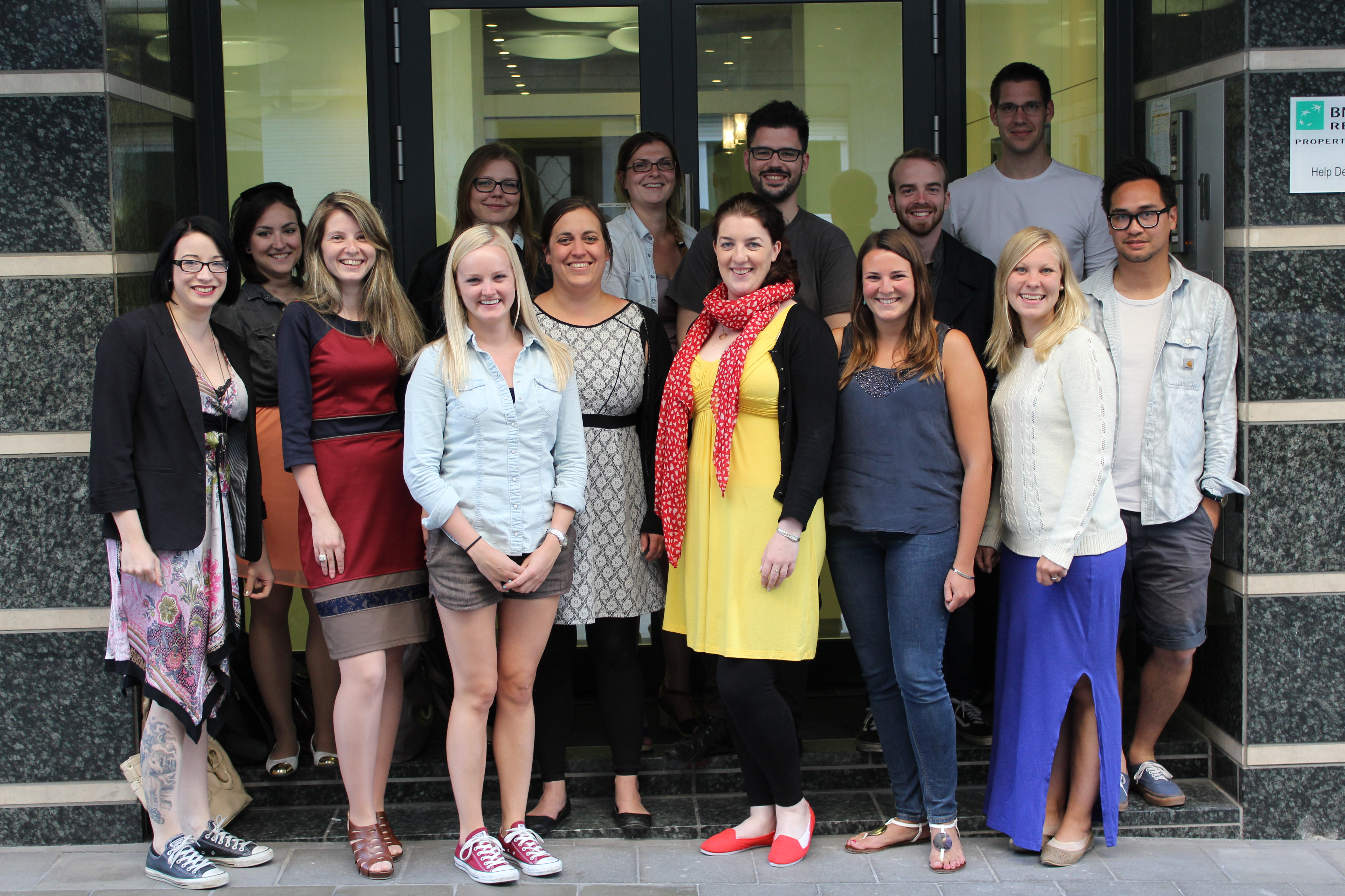 ESU's incoming and outgoing members met in Brussels in June for an official handover of tasks.