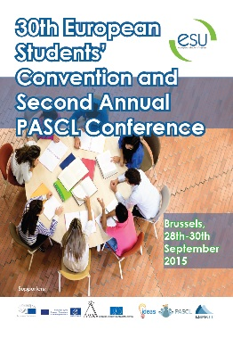30th European Students' Convention and PASCL Second Annual Conference