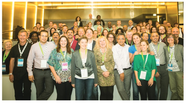 Participants of the SiS Catalyst conference in Vienna, Austria, November 2014.