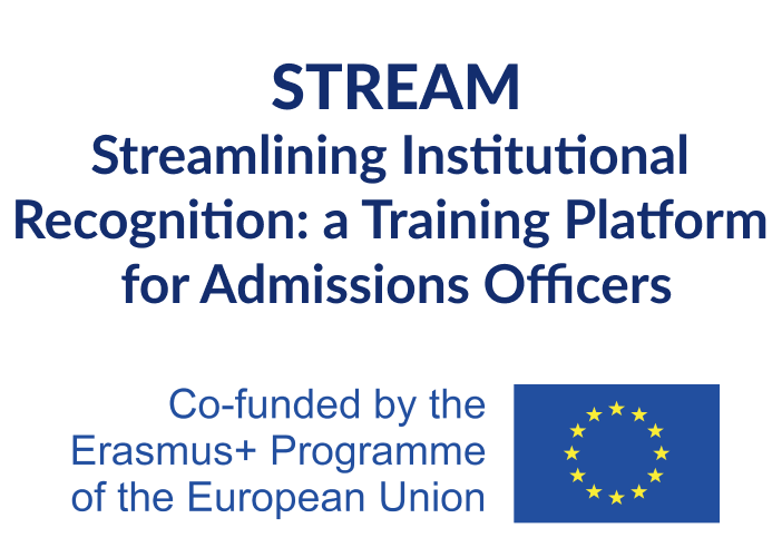 Streamlining Institutional Recognition: a Training Platform for Admissions Officers (STREAM)