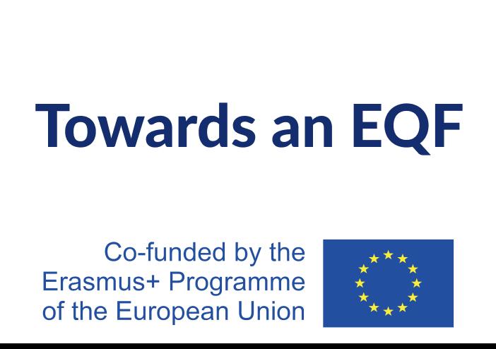Towards an EQF