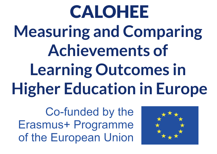 Measuring and Comparing Achievements of Learning Outcomes in Higher Education in Europe (CALOHEE)