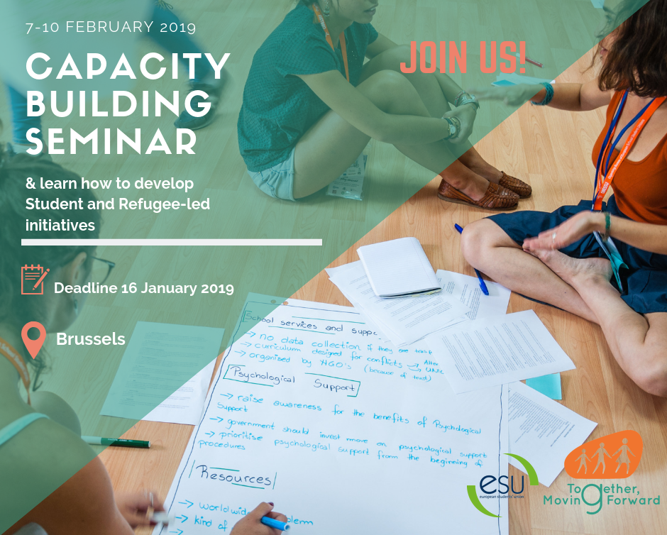 Together, Moving Forward Capacity Building Event