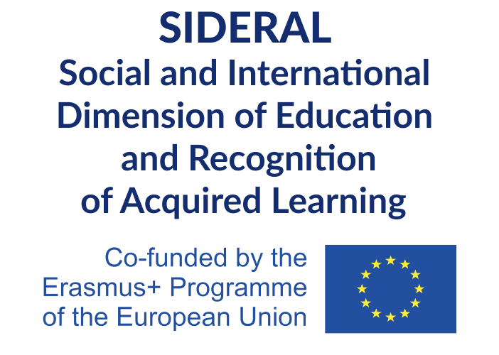 SIDERAL – Social and International Dimension of Education and Recognition of Acquired Learning
