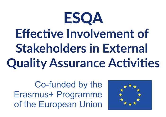 Effective involvement of stakeholders in external quality assurance activities (ESQA)