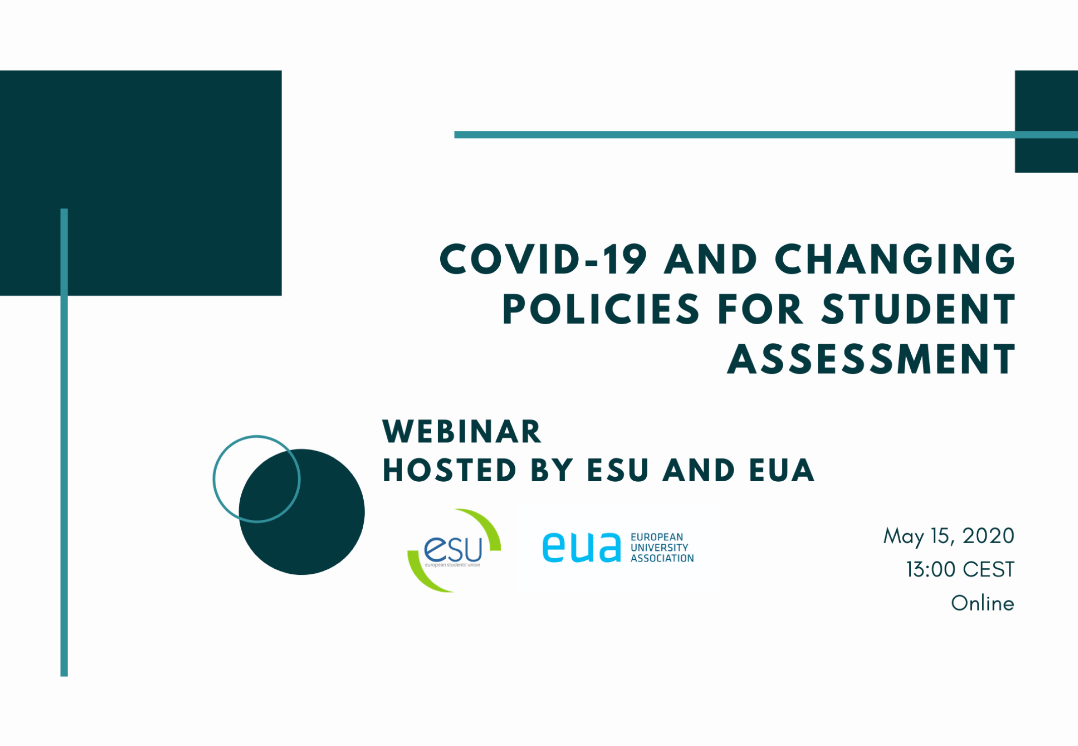 Webinar: COVID-19 and changing policies for student assessment