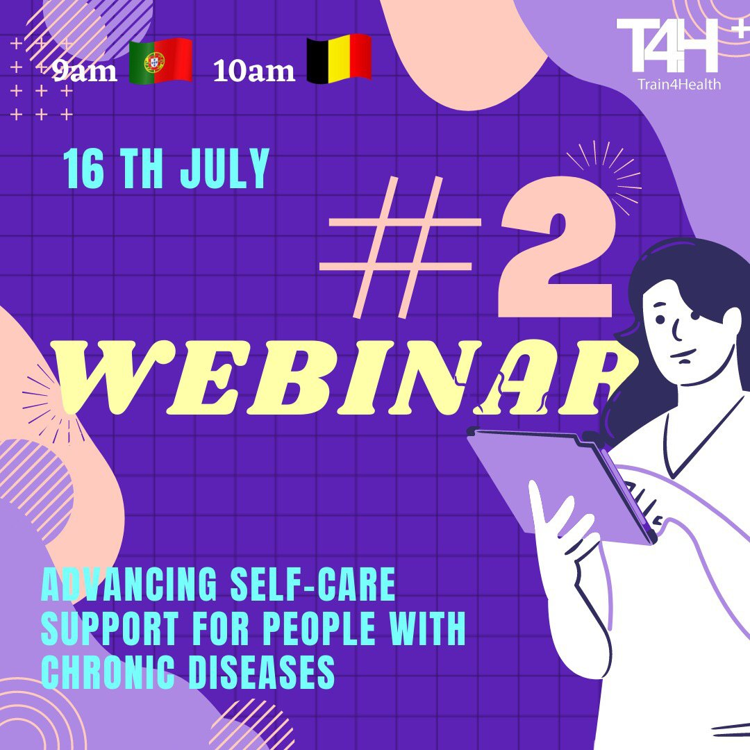 (Train4Health) 2nd Webinar: Advancing self-care support for people with chronic diseases