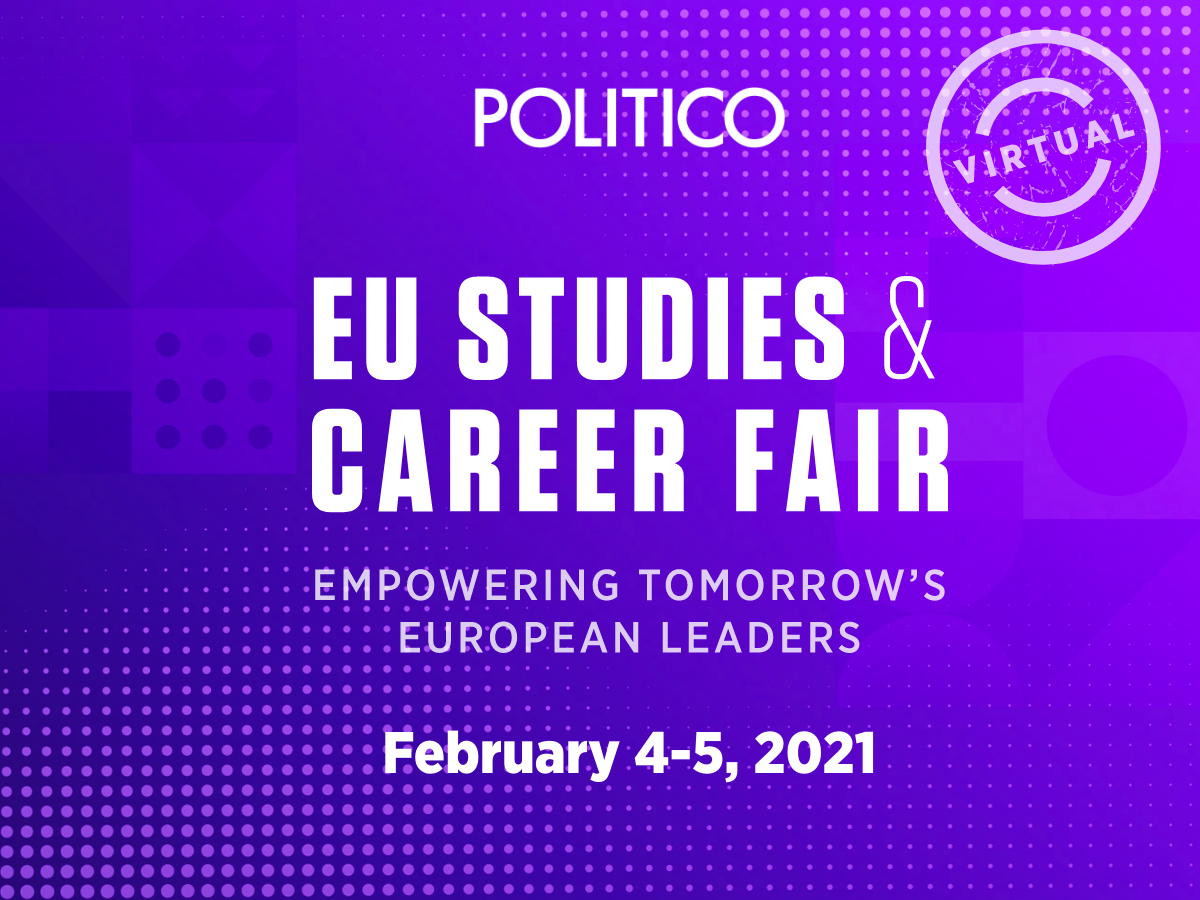 POLITICO's EU Studies and Career Fair